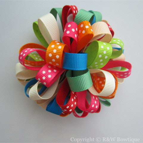 Cozy Cuties Loopy Hair Bow