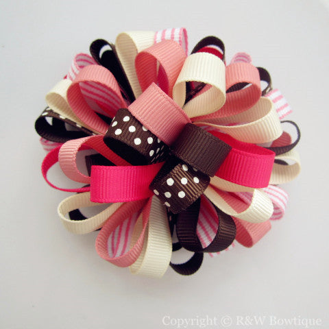 Fall Favorites Loopy Hair Bow
