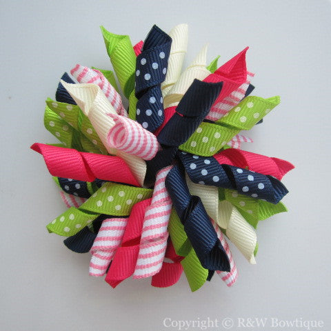 Fall Preview Korker Hair Bow