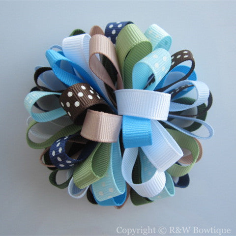Girls Best Friend Loopy Hair Bow