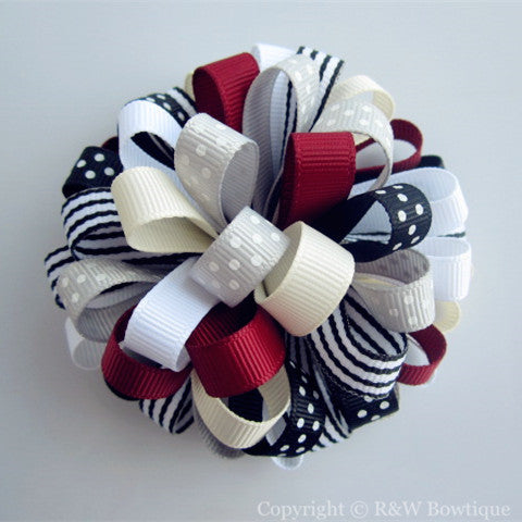 Holiday Gifts Loopy Hair Bow