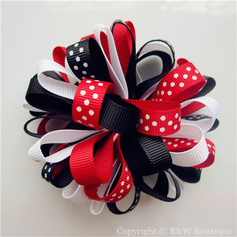 Holiday Traditions Loopy Hair Bow