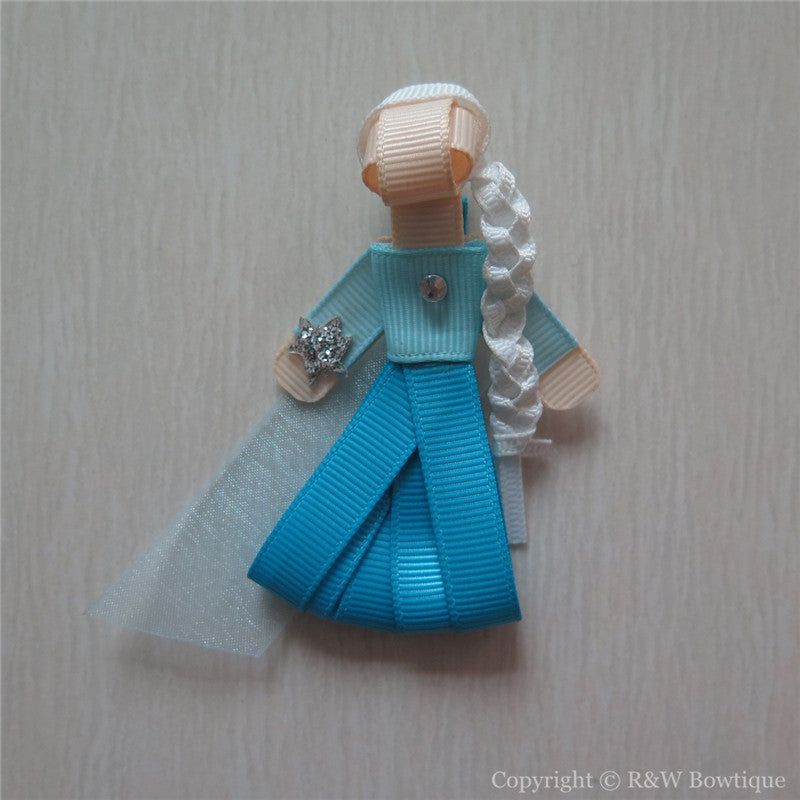 Frozen Elsa #A Sculptured Hair Clip