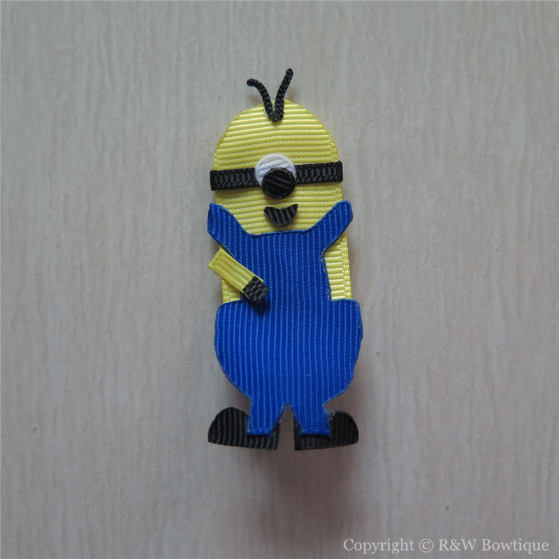 Minions Sculptured Hair Clip