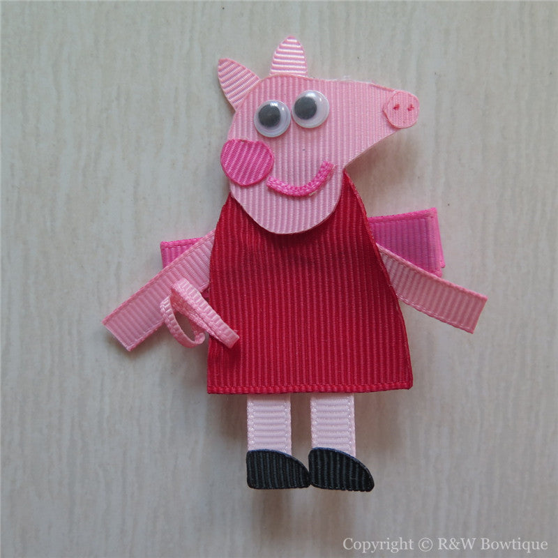 Peppa Pig Sculptured Hair Clip