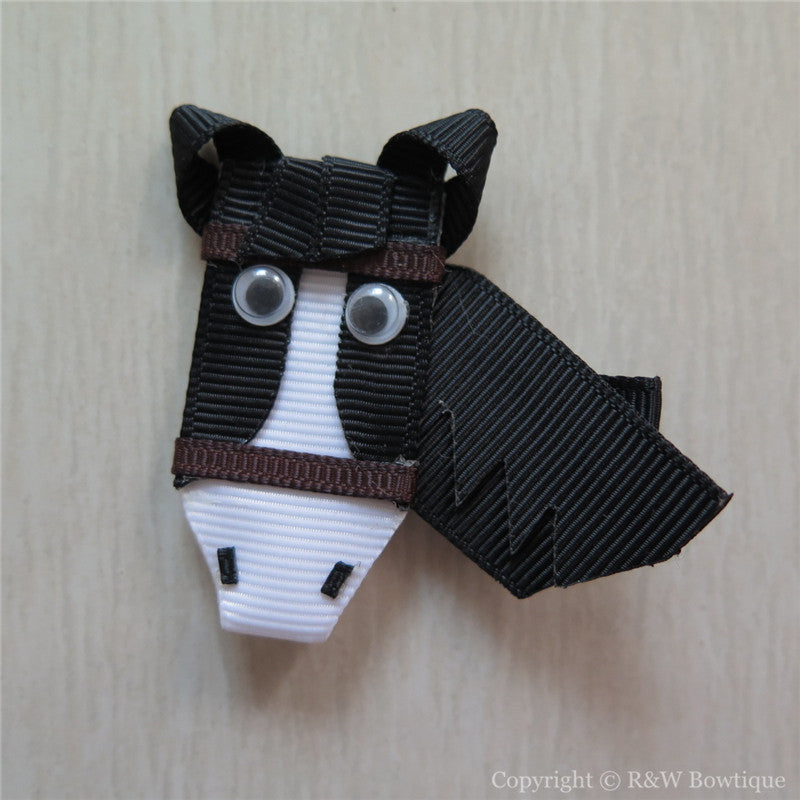 Horse #B Sculptured Hair Clip