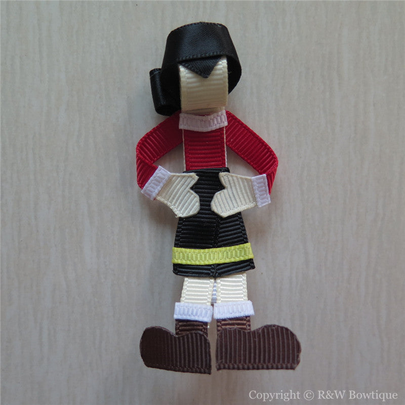 Olive Oyl Sculptured Hair Clip