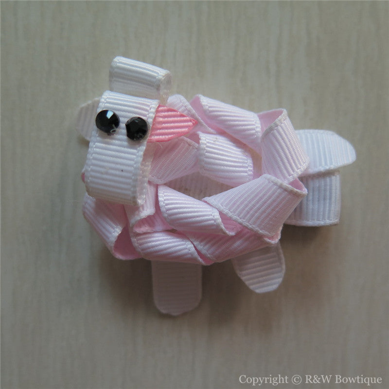 Lamb Sculptured Hair Clip