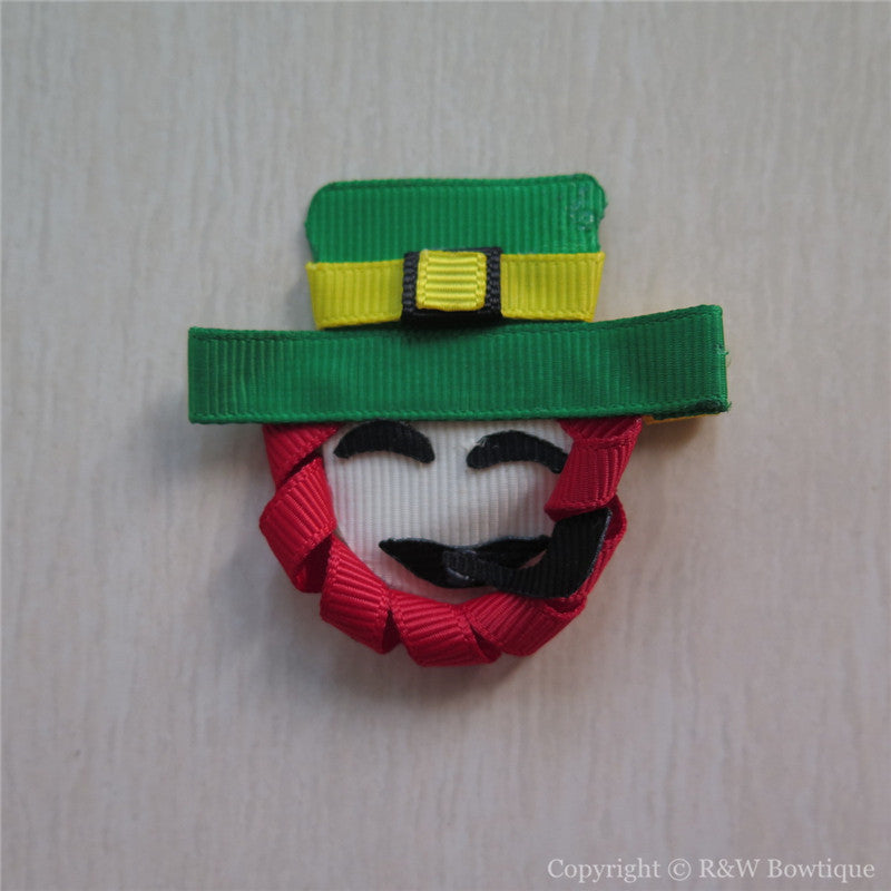 Leprechaun #A Sculptured Hair Clip