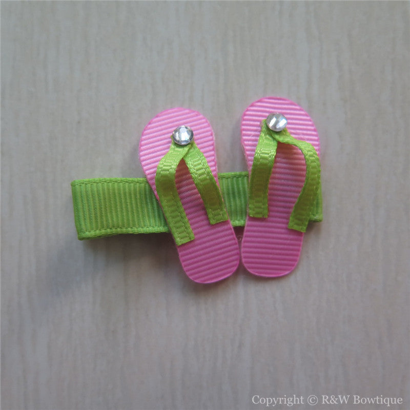 Flip Flop Sculptured Hair Clip