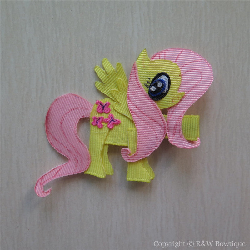 My Little Pony Fluttershy Sculptured Hair Clip