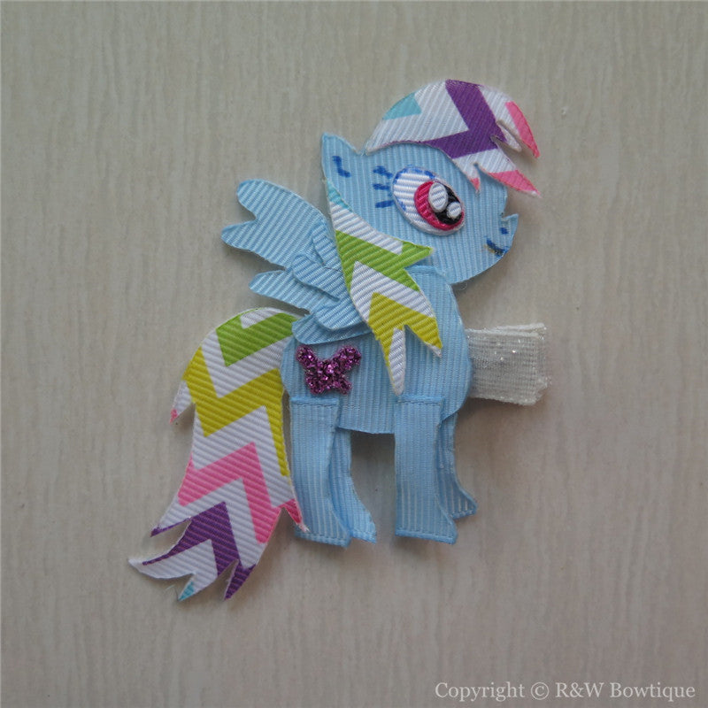My Little Pony Rainbow Dash Sculptured Hair Clip