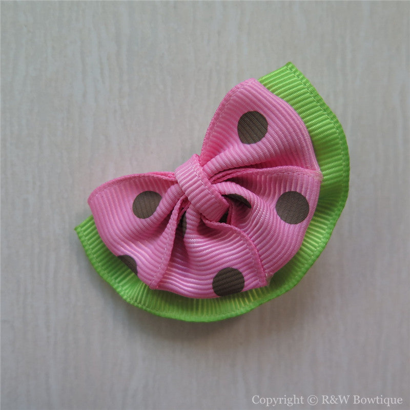 Watermelon #D Sculptured Hair Clip