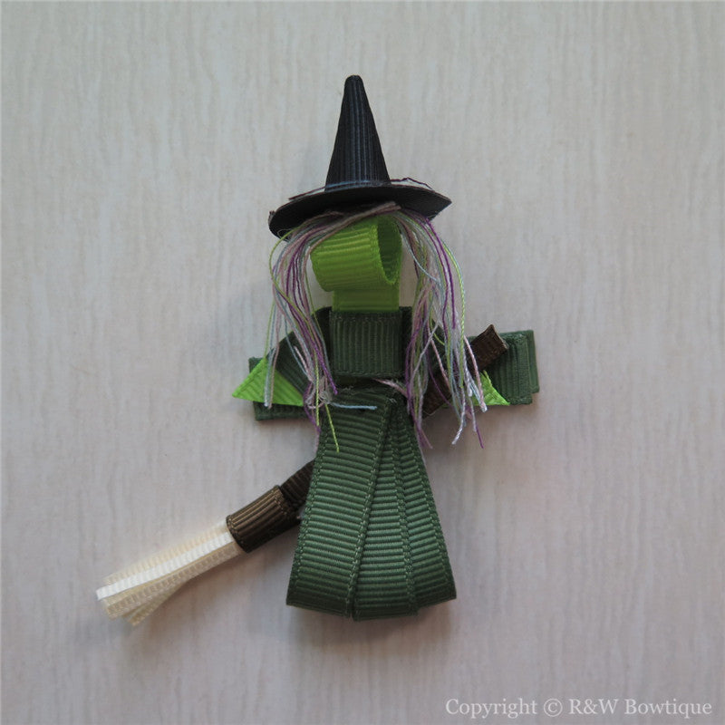 Witch #B Sculptured Hair Clip