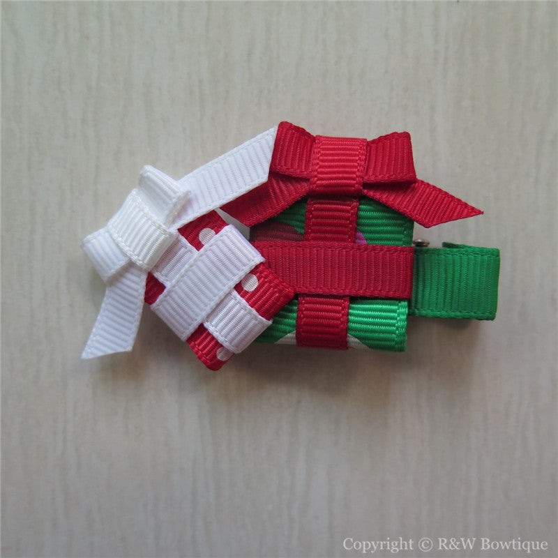 Christmas Gift Sculptured Hair Clip