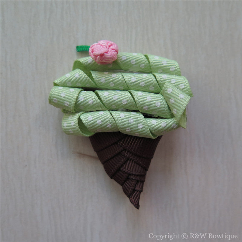 Ice Cream Sculptured Hair Clip