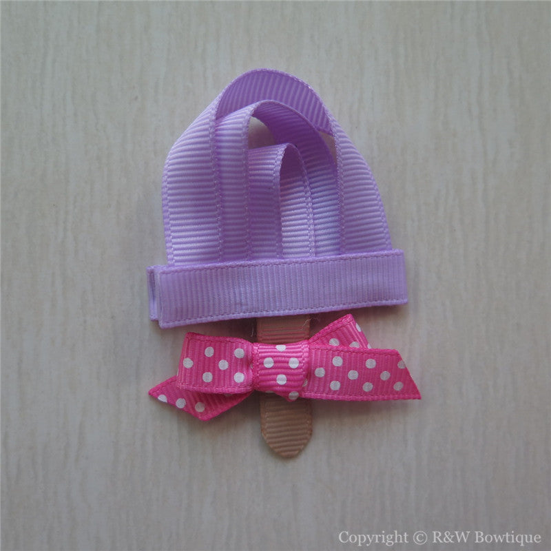 Popsicle #B Sculptured Hair Clip