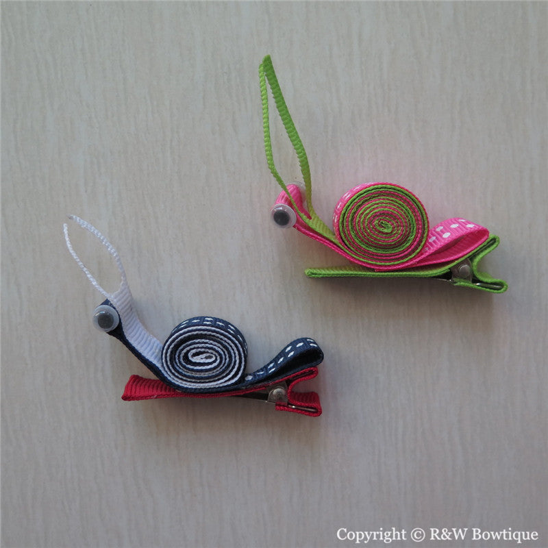 Snail Sculptured Hair Clip