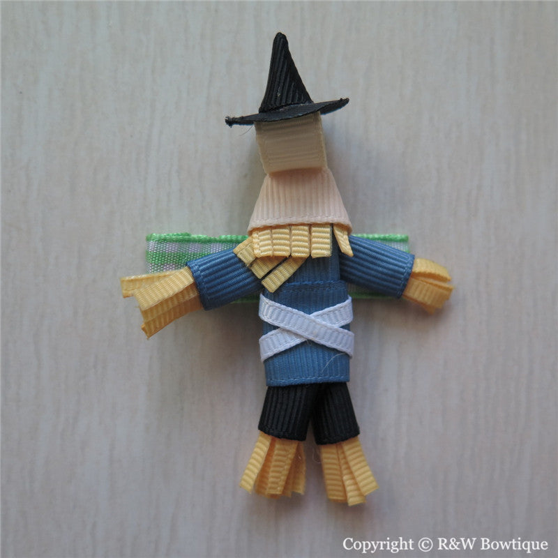 Scarecrow Sculptured Hair Clip