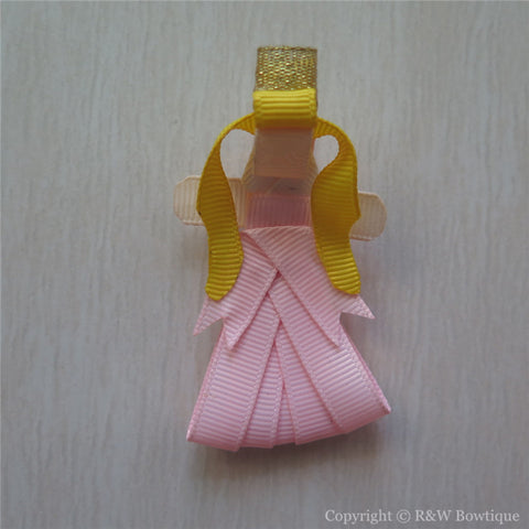Princess Aurora #B Sculptured Hair Clip