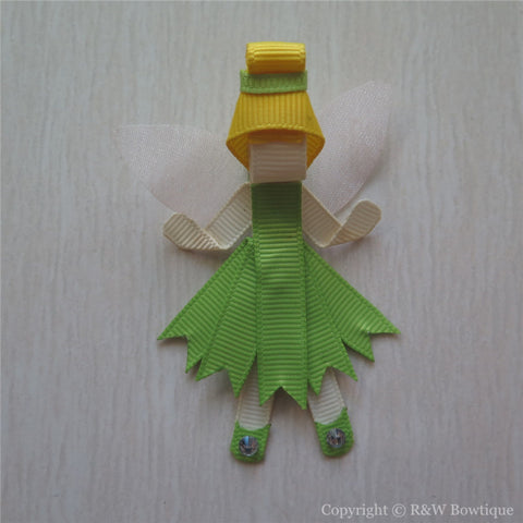 Princess Tinkerbell #B Sculptured Hair Clip