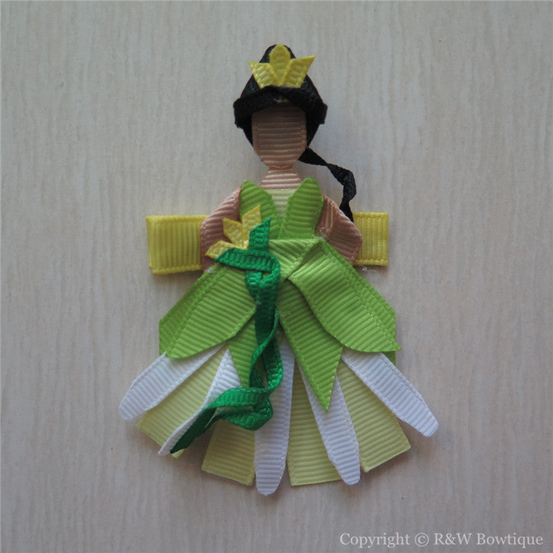 Princess Tiana #B Sculptured Hair Clip