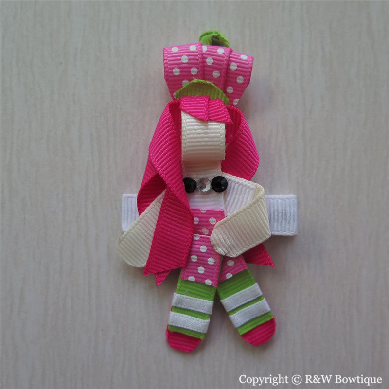 Strawberry Shortcake Sculptured Hair Clip