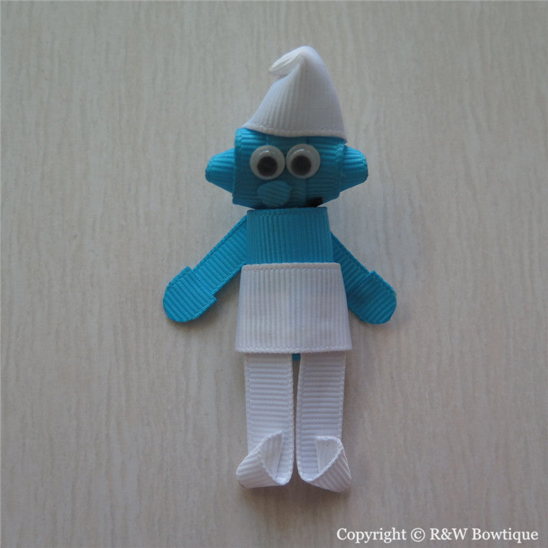 Smurfs Sculptured Hair Clip