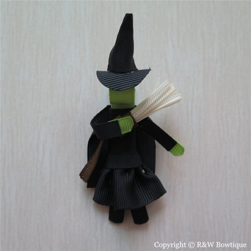 Wicked Witch Sculptured Hair Clip