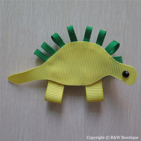 Dinosaur Sculptured Hair Clip