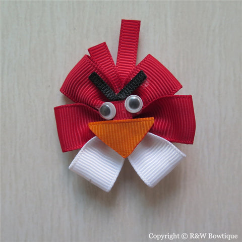 Angry Birds Sculptured Hair Clip