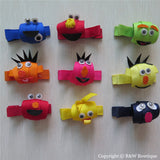 Sesame Street Sculptured Hair Clip