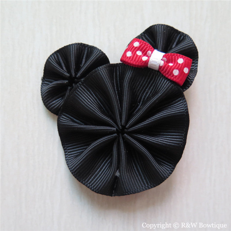 Minnie #B Sculptured Hair Clip