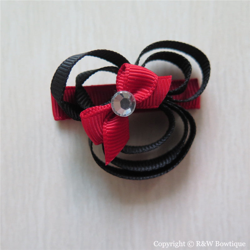 Minnie #A Sculptured Hair Clip