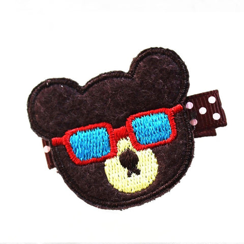 Felt & Embroidery - Bear w/Sunglass