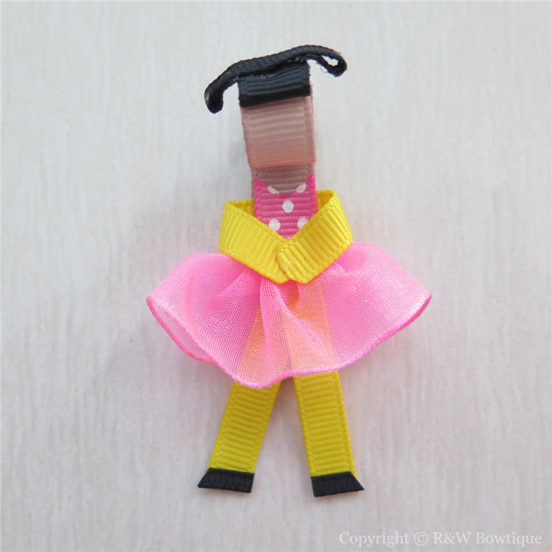 Ballerina #1 Sculptured Hair Clip