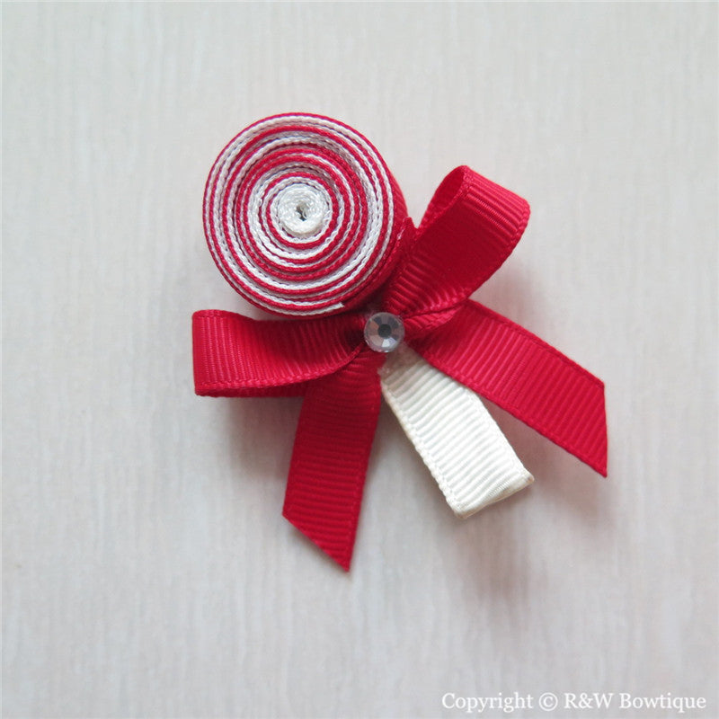 Lollipop Sculptured Hair Clip