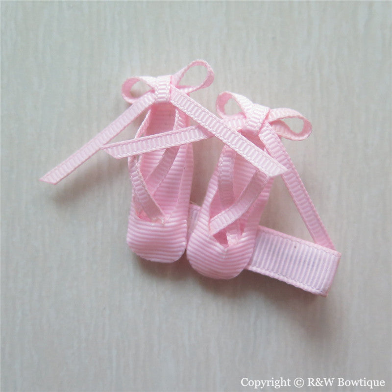 Ballet Shoes #B Sculptured Hair Clip