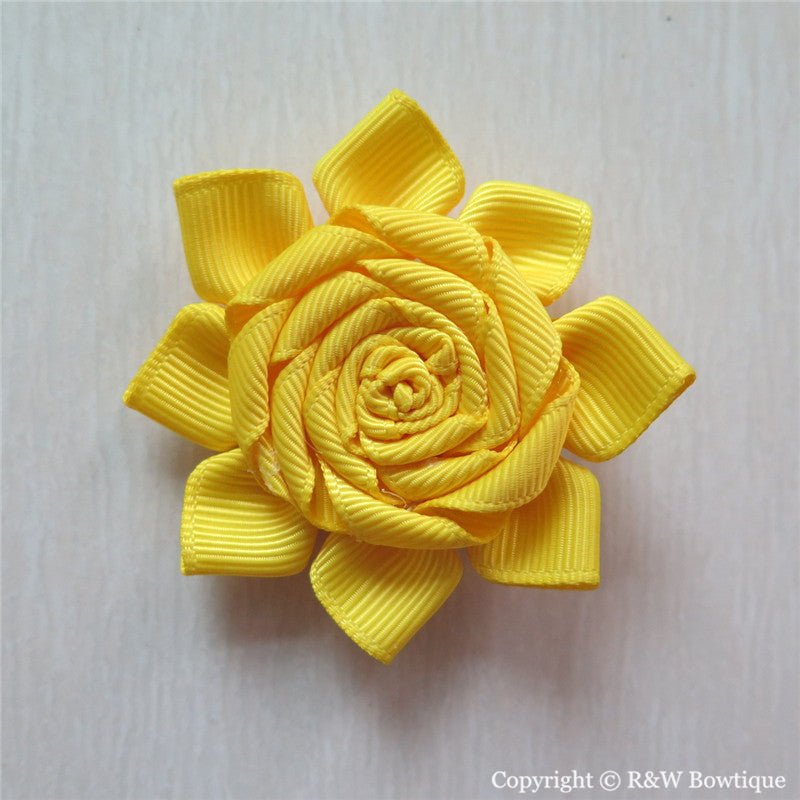 Sunshine Sculptured Hair Clip
