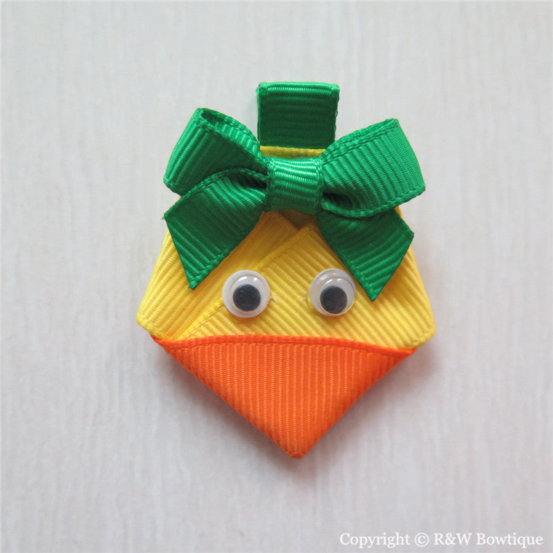 Duck #B Sculptured Hair Clip
