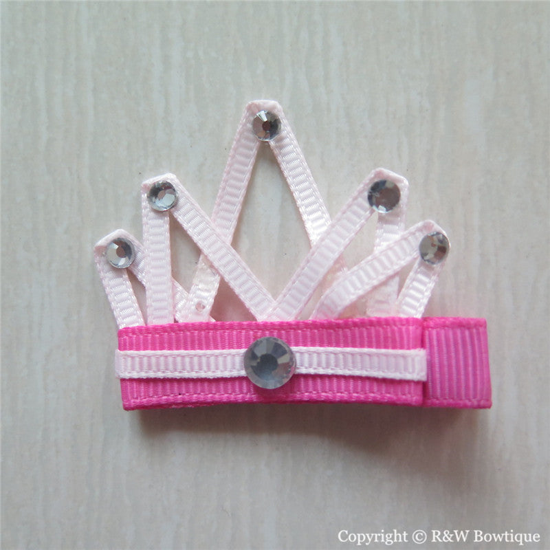 Princess Crown #A Sculptured Hair Clip
