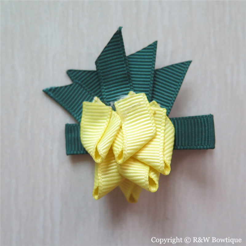 Pineapple Sculptured Hair Clip