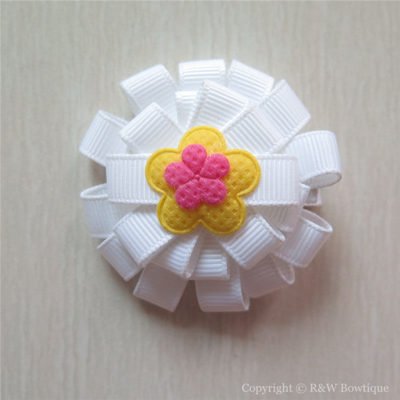 Daisy Sculptured Hair Clip