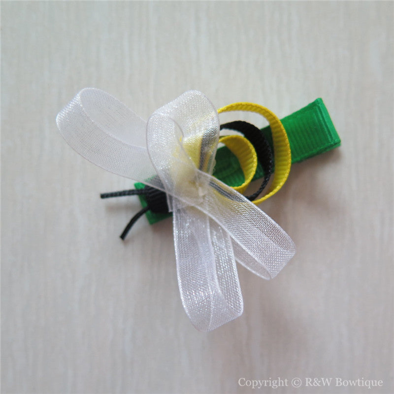 Bee Sculptured Hair Clip