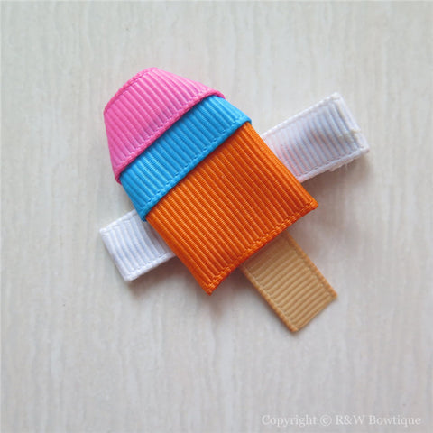 Popsicle #A Sculptured Hair Clip