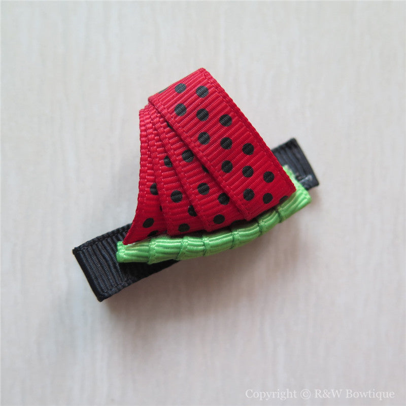 Watermelon #A Sculptured Hair Clip