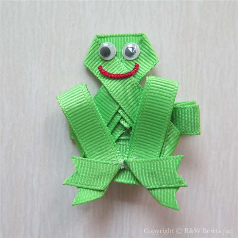 Frog #C Sculptured Hair Clip