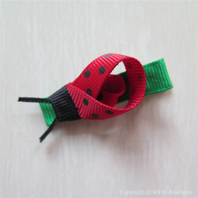 Ladybug Sculptured Hair Clip