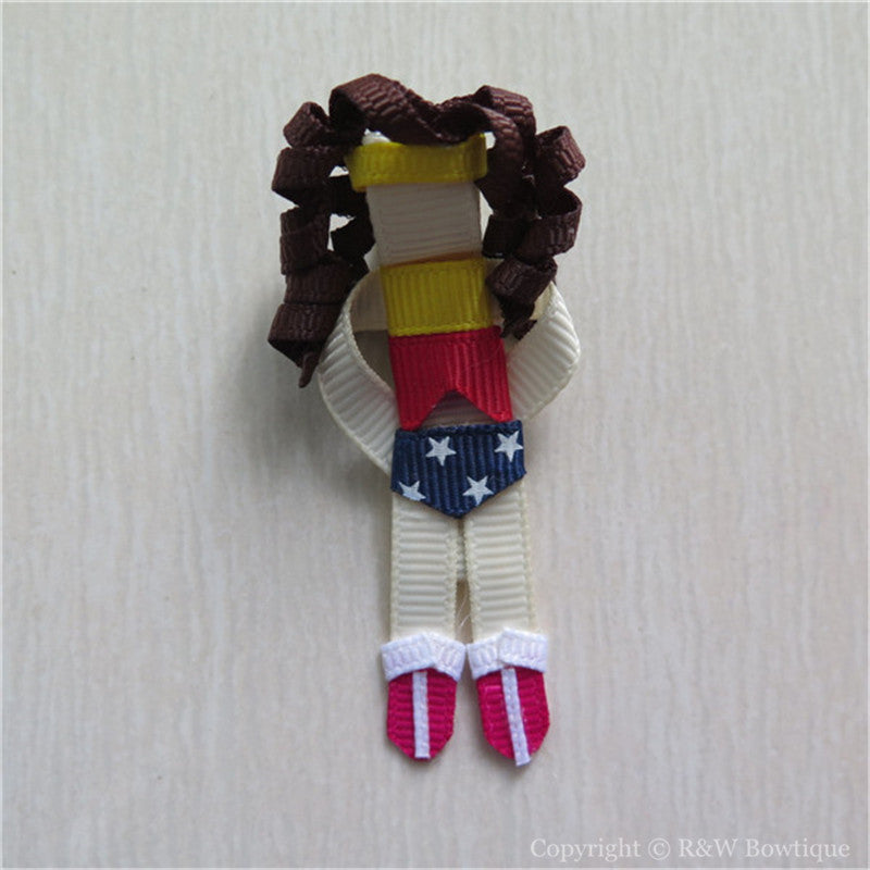 Wonder Woman Sculptured Hair Clip