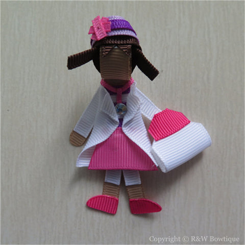 Doc McStuffins #B Sculptured Hair Clip